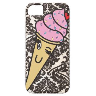 damask ice cream iphone case