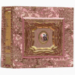 Damask Jolene Victorian 3 Ring Binder