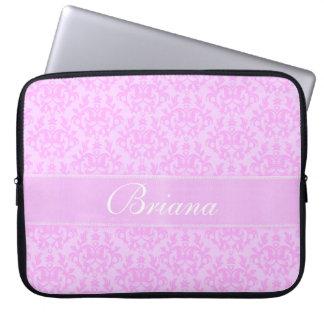"""Damask """"Kangaroo Paw"""" named lilac laptop case Laptop Computer Sleeve"""