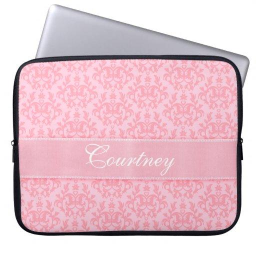 """Damask """"Kangaroo Paw"""" named pink laptop case Laptop Computer Sleeve"""