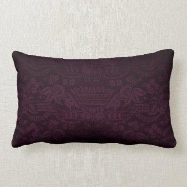 Damask Look cushion Throw Pillow