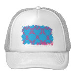 Damask Magenta-Aqua 4 Trucker Hat
