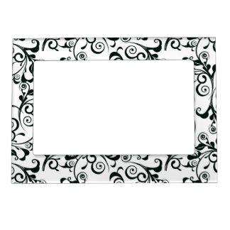 Damask Magnetic Photo Frame