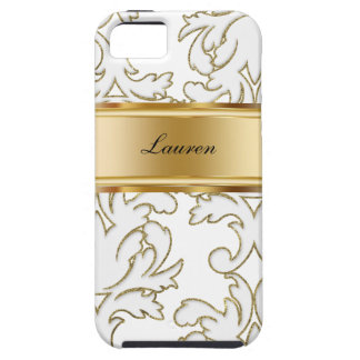 Damask Monogram iPhone 5 Cases