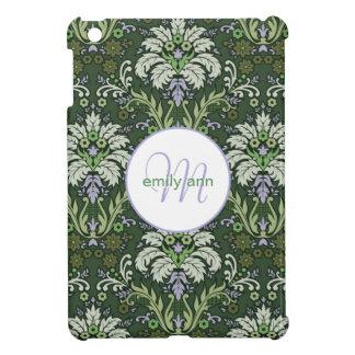 Damask Monogram Vintage Fern iPad Mini Covers