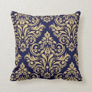 Damask - navy sand pillows