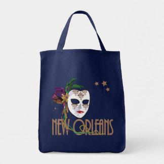 Damask New Orleans Mask Bag
