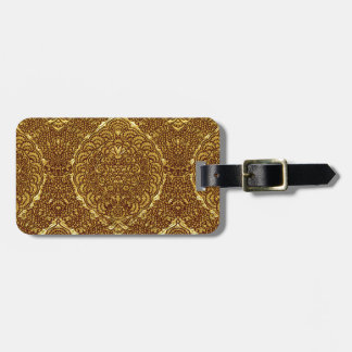 Damask of Queen Margaret I of Denmark's dress Luggage Tag