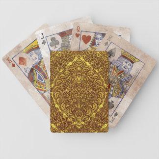 Damask of Queen Margaret I of Denmark's dress Deck Of Cards