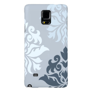 Damask Ornate Montage II Blues A Galaxy Note 4 Case