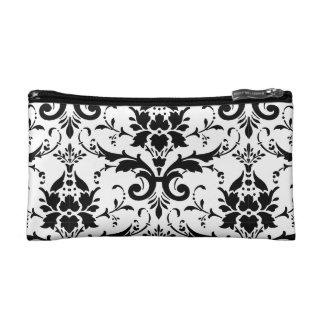 Damask Ornate Victorian Design Makeup Bag