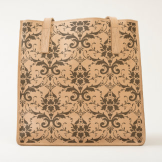 Damask Ornate Victorian Design Tote