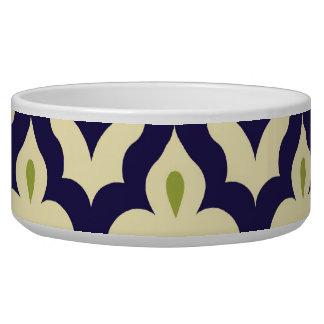 Damask paisley arabesque Moroccan pattern Bowl