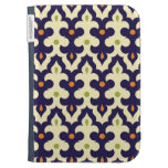 Damask paisley arabesque Moroccan pattern Kindle Keyboard Cases