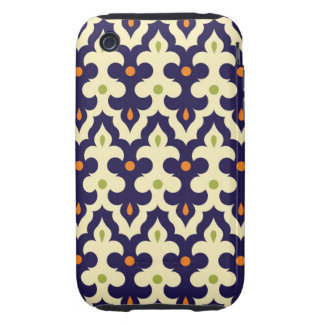Damask paisley arabesque Moroccan pattern Tough iPhone 3 Cover