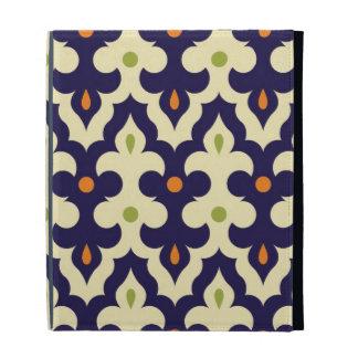Damask paisley arabesque Moroccan pattern chic iPad Folio Cases