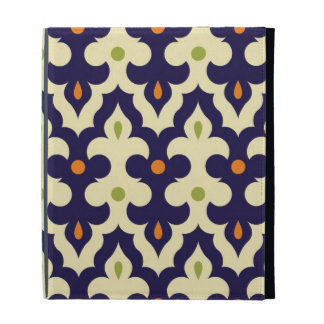 Damask paisley arabesque Moroccan pattern chic iPad Folio Cases
