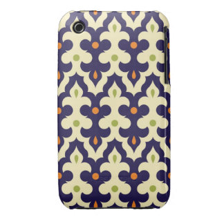 Damask paisley arabesque Moroccan pattern girly Case-Mate iPhone 3 Case