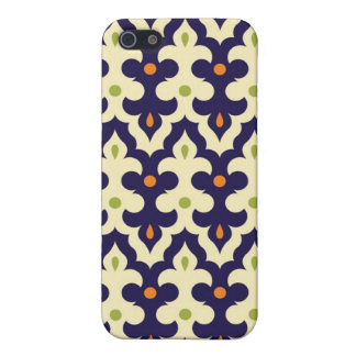 Damask paisley arabesque Moroccan pattern girly Cover For iPhone SE/5/5s