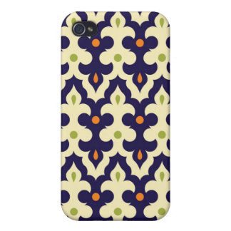 Damask paisley arabesque Moroccan pattern girly iPhone 4/4S Cases