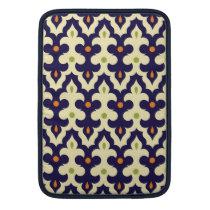 Damask paisley arabesque Moroccan pattern MacBook Sleeve
