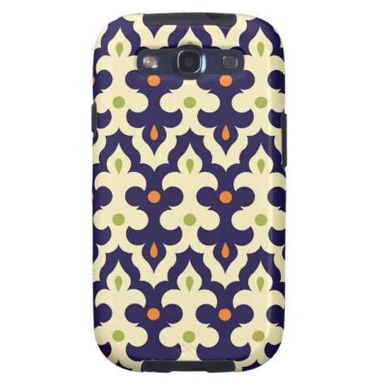 Damask paisley arabesque Moroccan pattern Samsung Galaxy SIII Cover