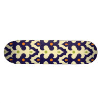 Damask paisley arabesque Moroccan pattern Skateboard Deck