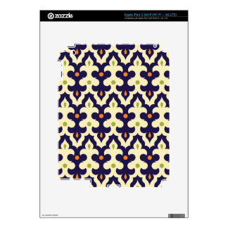 Damask paisley arabesque Moroccan pattern Decal For iPad 3