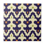 Damask paisley arabesque Moroccan pattern Tiles
