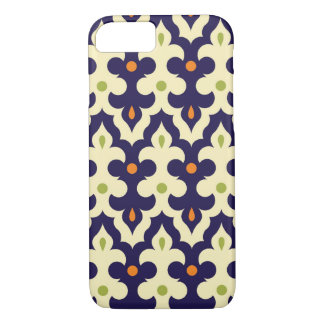 Damask paisley arabesque wallpaper pattern iPhone 7 case