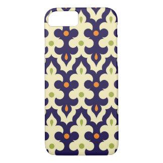 Damask paisley arabesque wallpaper pattern iPhone 7 case