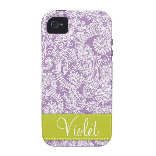 Damask Paisley iPhone 4 Case