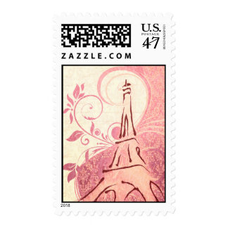 Damask Parisienne - Honeysuckle & Ivory Wedding Postage