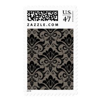 Damask Pattern 2 Postage Stamp