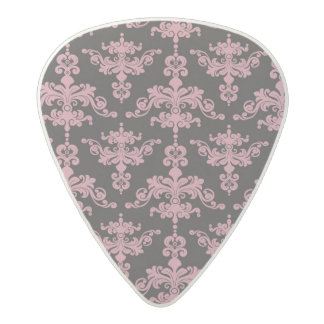 Damask Pattern 5 Acetal Guitar Pick