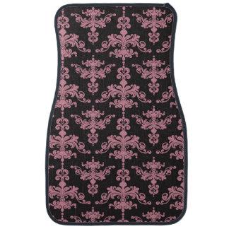 Damask Pattern 5 Floor Mat
