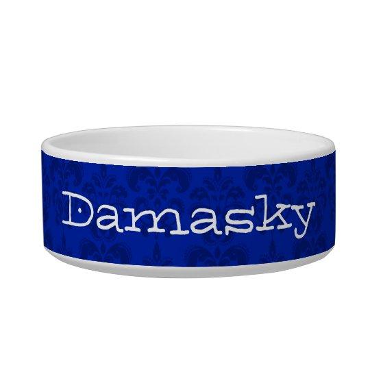 Damask Pattern Bowl