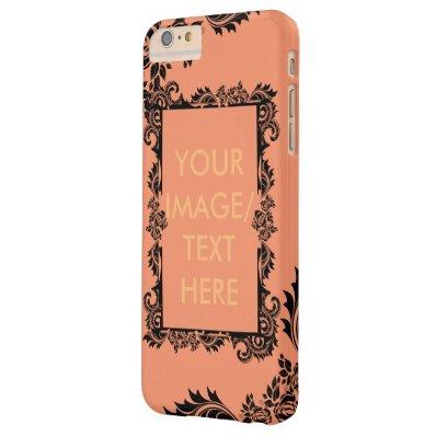 Damask Pattern iPhone 6/6s Plus Case