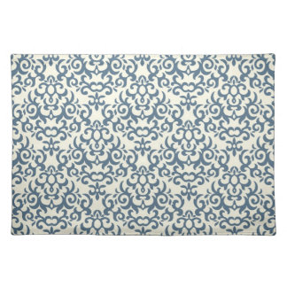 Damask pattern on gradient background 2 placemat