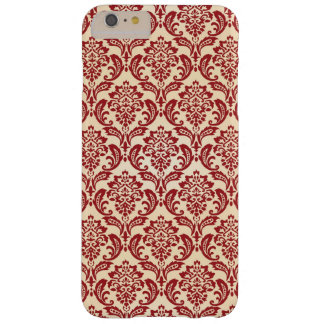 Damask pattern wallpaper barely there iPhone 6 plus case