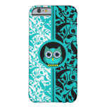 damask pattern with owl iPhone 6 case iPhone 6 Case