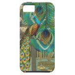 Damask Peacock & Feather You Choose Color iPhone 5 Cover