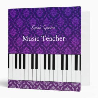Damask | Personalizable Music Teacher Binder