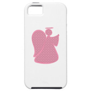 Damask Pink Abstract Angel iPhone 5 Cases