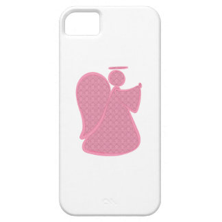 Damask Pink Abstract Angel iPhone 5 Cover