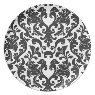 Damask Plate
