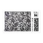 damask postage stamp