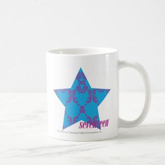 Damask Purple-Aqua 2 Coffee Mug