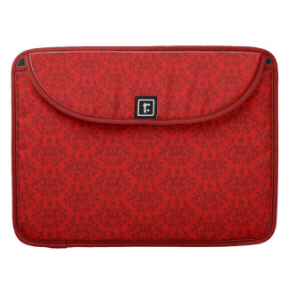 "Damask red hues MacBook Air 15"" Flap Case"