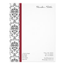Damask Regal Letterhead